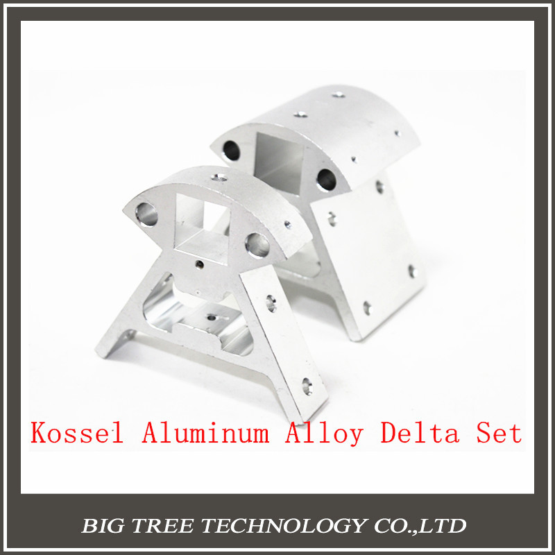 ФОТО 3D Printer Accessories Set Full Metal Kossel Aluminum Alloy Delta Set Big And Small Corner Pieces Aluminum Alloy Base diy kit