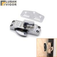 zinc alloy sliding door hook lock For Bathroom kitchen sliding door Single-sided lock Surface mounting Hardware Locks