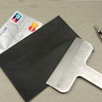 Leather craft wallet card holder stripe hand punch tool 57mm 87|tool tool|tools punch|tool holder -