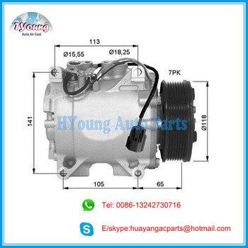 HS-110R HS110R auto ac a/c compressor voor Honda Accord Estate Wagon Euro VII (CL) 2003-2008 38800RAAA01 38810RBA006