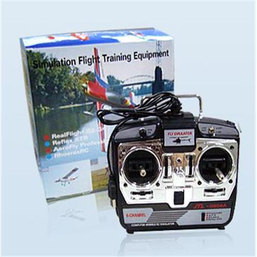6CH XTR RC Flight Simulator 6 CH JTL-0904A  Airplane CD Free Track Shipping