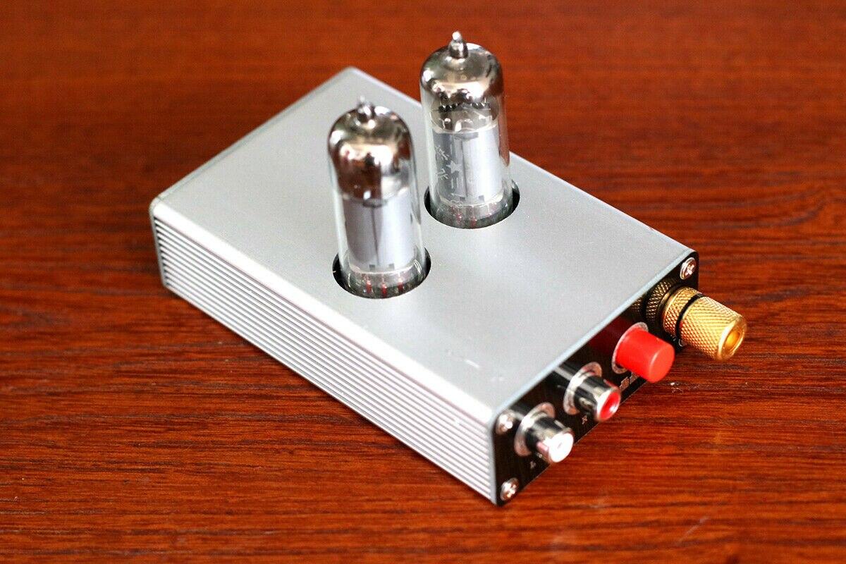 Nobsound HiFi 6K4 Vacuum Tube MM MC Phono Stage Preamp Mini Turntable Audio Preamplifier