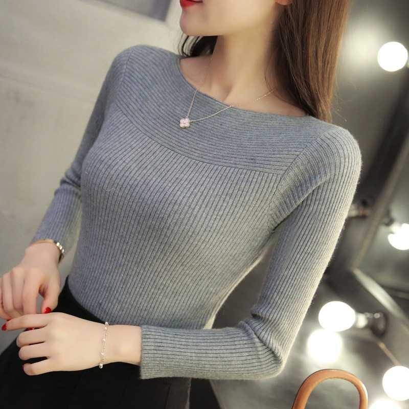 Women Long Sleeve Pullover Sweater