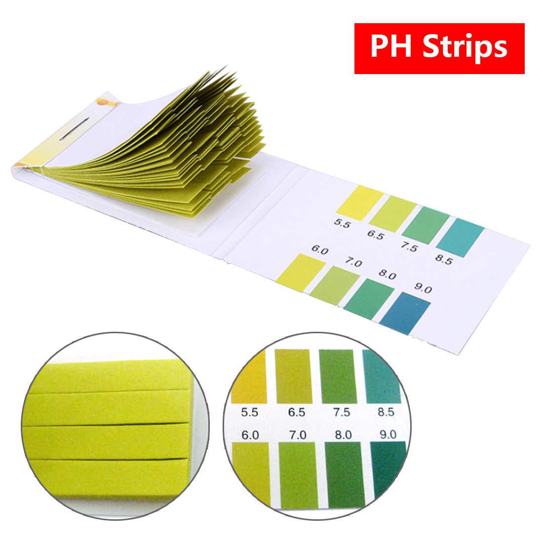 Litmus paper PH test paper 80 Strips PH Range 5 5 9 0 PH