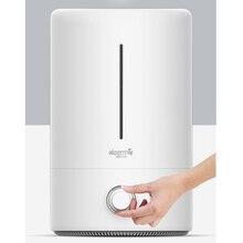 Оригинальный xiaomi Mijia deerma 5L увлажнитель воздуха 35 дБ Тихая очистка воздуха для кондиционированных комнат для офиса и дома