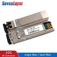 10G SFP module BIDI 10GBASE Fiber Optic SFP Transceiver Module SM LC Optic module Compatible with multiple switches