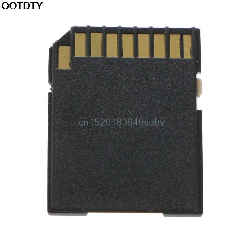 Tarjeta de memoria SD 5 uds negro Micro SD TF TransFlash a SDHC SD Adaptador de Tarjeta de Memoria convertidor-Nuevo caliente