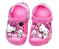 Hello kitty 3D cartoon beach Kids sandal/slippers kid cute summer  spring :C6-7 C8-9 C10-11 C12-13