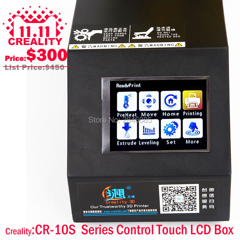 Factory Supply CREALITY 3D Printer Parts Full Assembled Control Box kit for CR 10 CR 10S