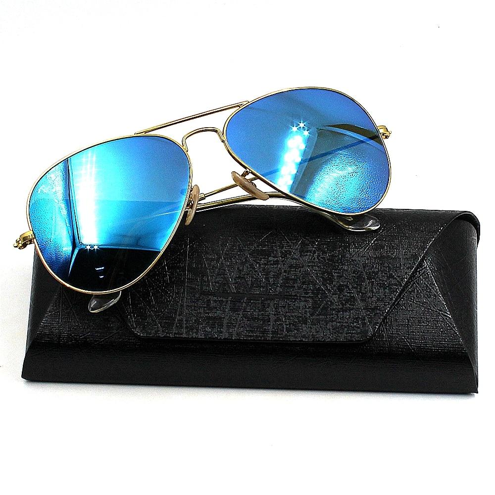 Vintage Sunglasses Eyeglasses Storage Holder Durable PU Leather Professional Glasses Case Retro Box Hard box Metallic Framework in Eyewear Accessories from Apparel Accessories
