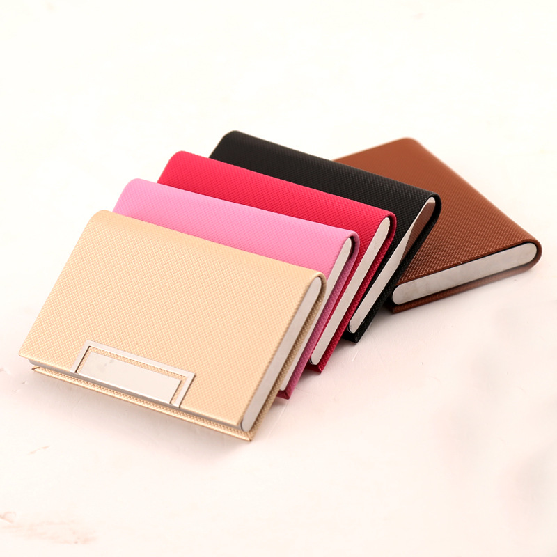 Business Card Holder RFID Blocking Namecard Case Wallet Credit Card ...
