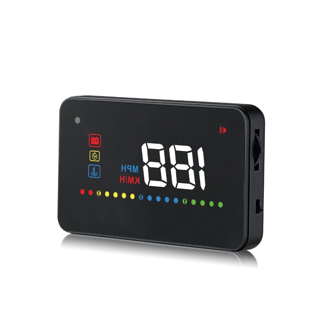GEYIREN A200 hud font b car b font universal head up display speedometer obd2 temperature water