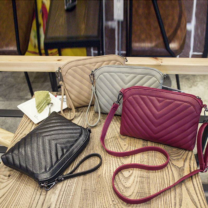YBYT Fashion Striped Crossbody Bags For Women Soft PU Leather Ladies Handbags Joker Leisure Female Shoulder Bags bolsas feminina in Shoulder Bags from Luggage Bags