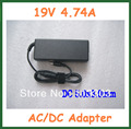 20pcs AC DC Adapter 19V 4.74A 90W Power Supply for HP Laptop DC 5.0x3.0mm with AC Cable Replacement Laptop Charger Power Adapter