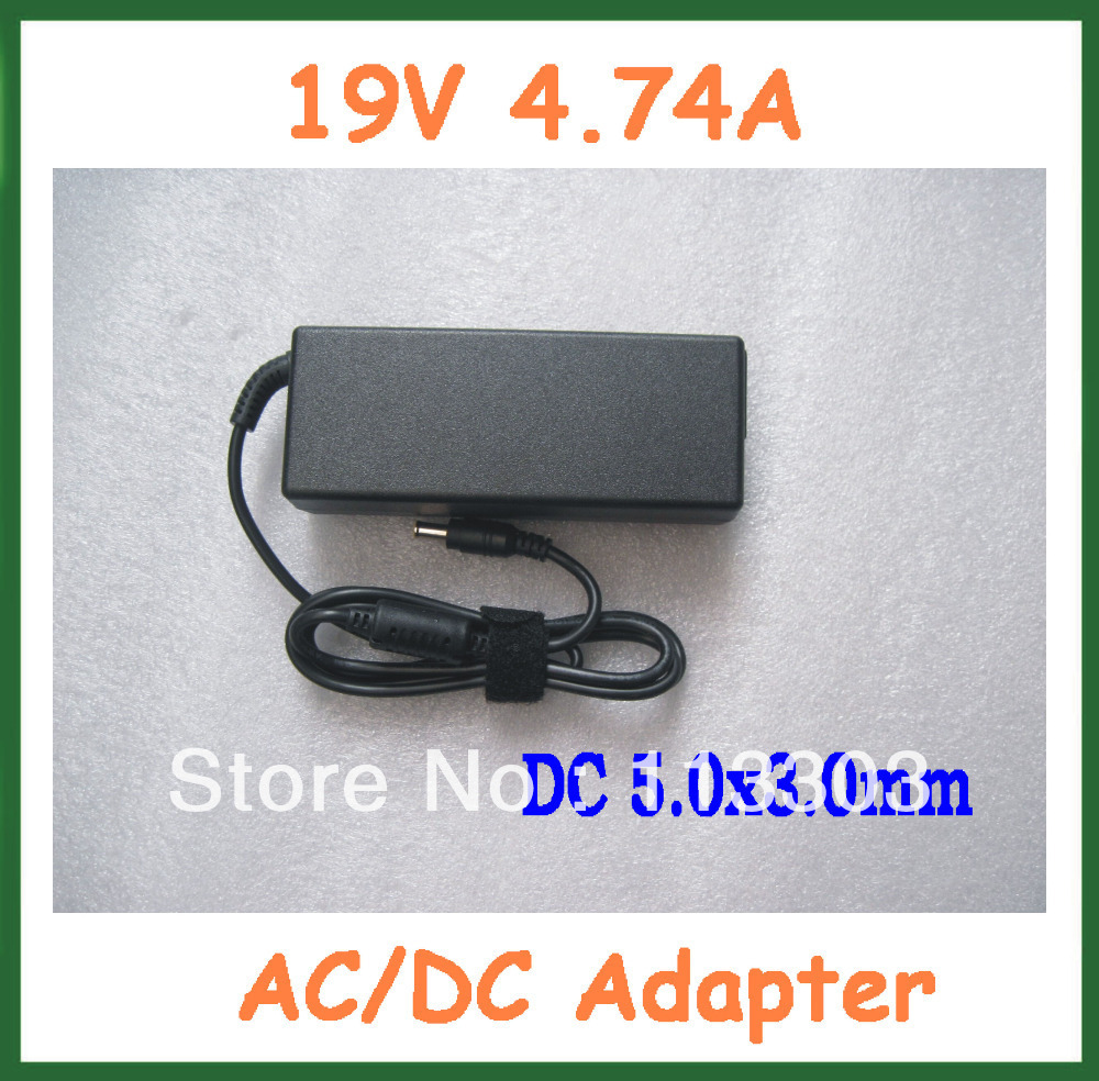 compare prices on hp laptop power supply online shopping buy low 20pcs ac dc adapter 19v 4 74a 90w power supply for hp laptop dc 5 0x3