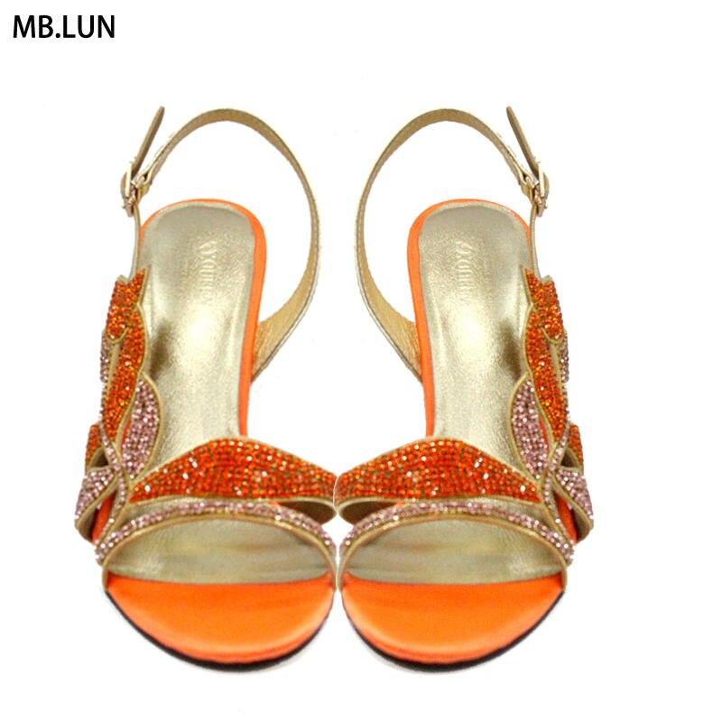 Dubai luxury Sexy High Heels Sandals Women Summer Shoes