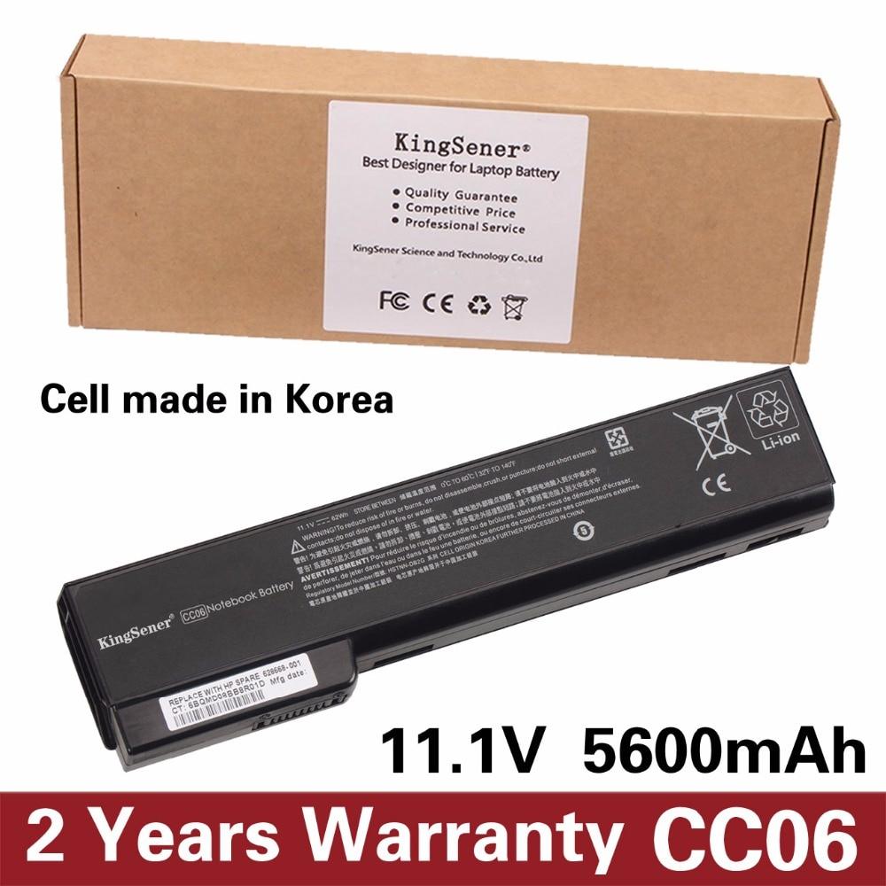 KingSener CC06 CC06XL New Battery For HP ProBook 6360b 6460b 6470b 6560b 6570b 6465b 6475b For EliteBook 8460p 8470p HSTNN-F08C нож складной boker b055 пиксельный камуфляж