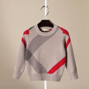 Image 3 - קרדיגן עבור בנות 2018 מותג עיצוב צמר כותנה סריגי חורף תינוק סוודר ילדי בגדי בני סוודר ילדי תינוק סוודר