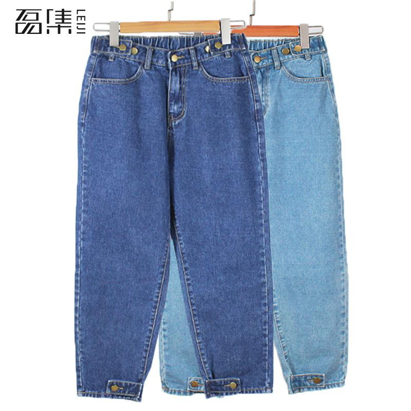Boyfriend Jeans For Women  High Waist Mom Jeans   Plus Size Mom  Feminino Harem  Denim Pants  100kg