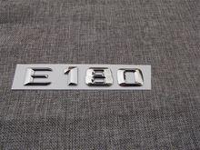 Хромированные abs пластиковые автомобильные задние буквы значок
