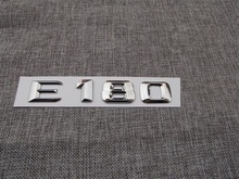 ABS Plastic Car Trunk Rear Letters Badge Emblem Decal Sticker for Mercedes Benz E Class E180