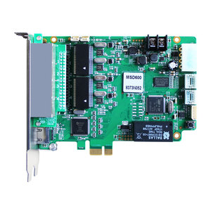 Image 2 - Novastar MSD600 מלא צבע led וידאו תצוגת שליחת כרטיס חיצוני & מקורה P2.5 P10 P20 led וידאו תצוגת סינכרוני בקר