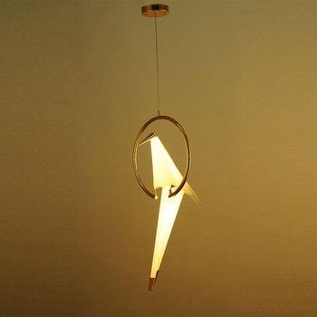 Moderne  Unieke Vogel Hang Lamp 4