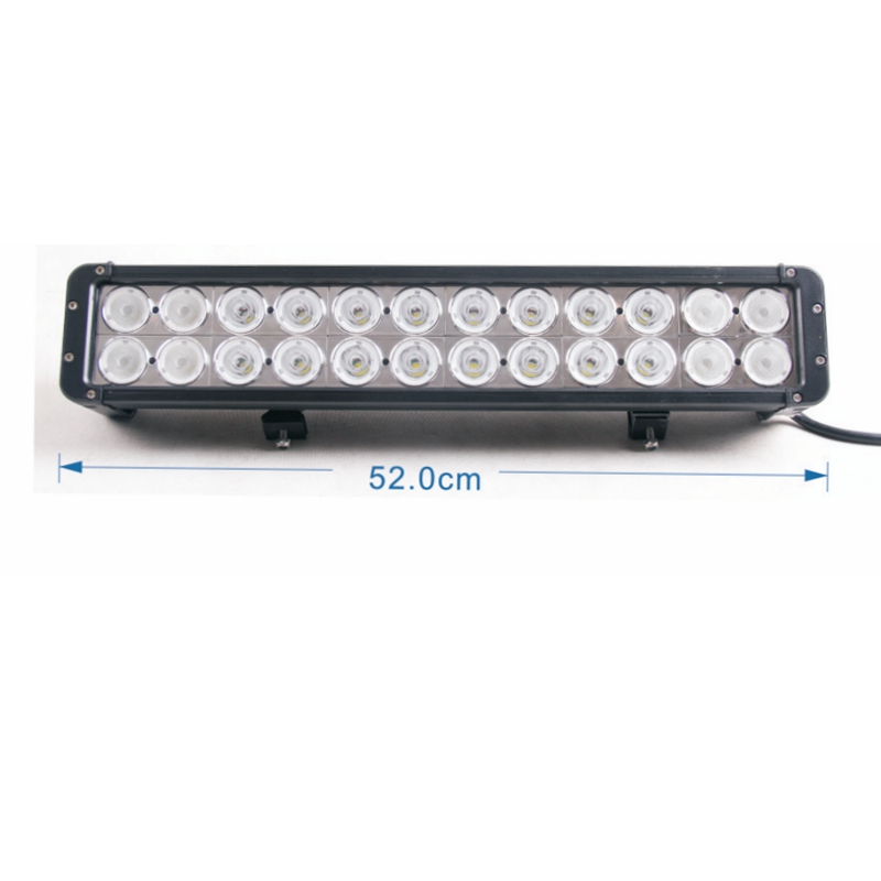 1pcs High Power 240W 24Leds LED light bar truck offroad tractor light bar 20 Inch Double
