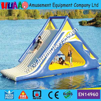 7*3.6m inflatable water slide with free CE pump and repair kit