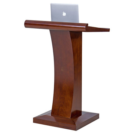 Podium reception desk solid wood simple and modern meeting teacher mobile presentation reception desk