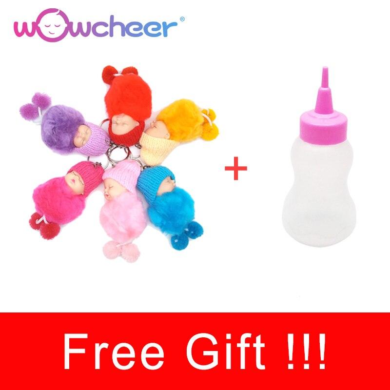 WOWCHEER Handmade New Reborn Baby Doll Lifelike Soft Silicone Dolls Kawaii Alive Toys for Girls Children Gift 23-50cm 1