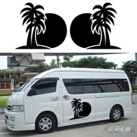 2x Palm Tree SUN Hammock One For Each Side Camper Van RV Trailer Truck Motor Home