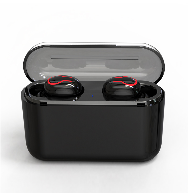 HBQ Wireless Bluetooth Earphones 5.0 With Mic For Hands free Call Charging Box 17