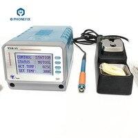 Leisto T12-11 sem chumbo estação de solda pcb reparação ferro de solda para o telefone móvel placa-mãe ferramentas de reparo