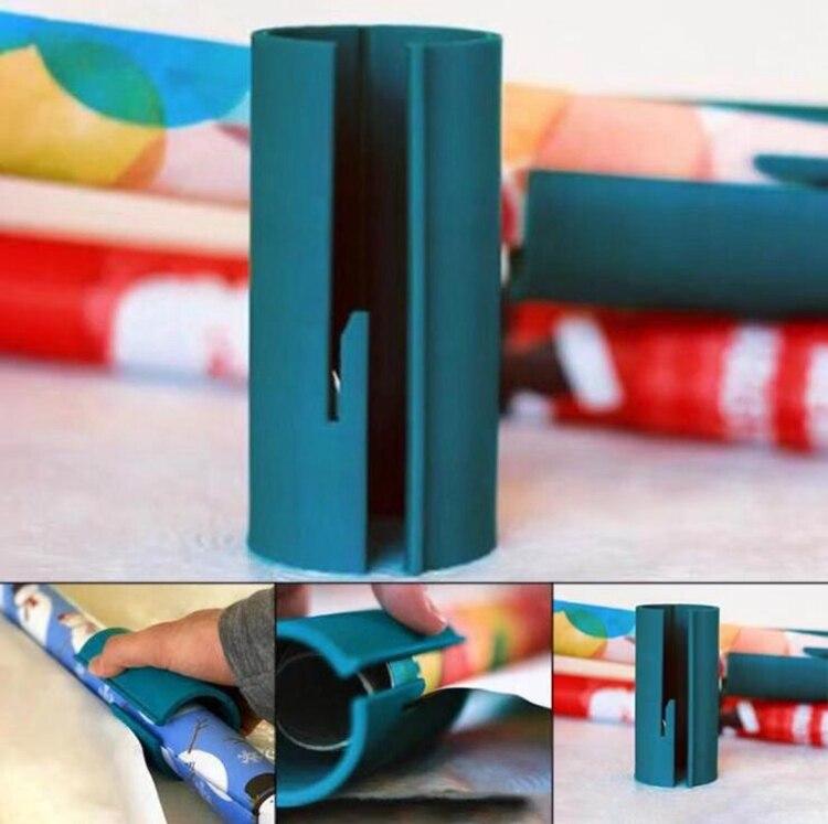 Gewijd Drop Verzending Inpakpapier Cutter Tool Voor Cadeaupapier Rolls Gemaakt Gemakkelijk En Leuk Gewikkeld Papier Cutter Tonen Plank Speelgoed