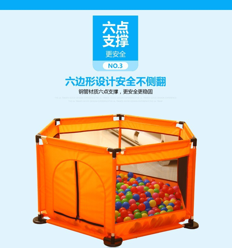 Indoor outdoor 6 surface baby playpens children place fence kids activity gear safety protection toddler fence