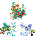 New Arrival 10000pcs Rainbow crystal water paintball a gun bullet darts Pistol Toys for Chidren