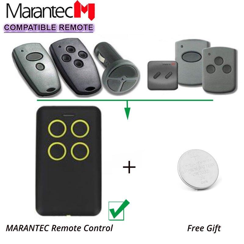 Marantec Garage Transmitter Fixed Code D302 D304 868MHz Remote Control Duplicator marantec digital 302 d304 d313 compatible garage gate remote digital comfort cloner