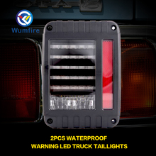 Фотография 2PCS Car Accessories Waterproof Safety Warning LED Taillights Truck Trailer Rear Light Car Truck Taillights