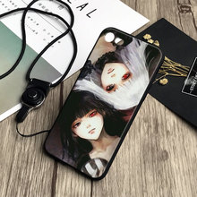 Tokyo Ghoul Soft Silicone Phone Case For Apple iPhone 5 5S SE 6 6S 6Plus 6sPlus 7 7Plus 8 8Plus X
