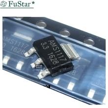 100pieces/lot AMS1117-3.3 AMS1117 3.3 AMS1117-3.3V SOT-223 New and origina 50pcs lot cd4072be cd4072 dip 14 new origina