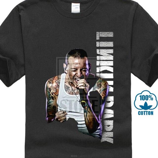 b62ca703a Chester Bennington Tribute T Shirt Rip Linkin Park Tee E02-in T ...