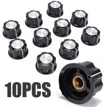 цены 10pcs New Top Rotary Control Turning Knob for Hole 6mm Dia. Shaft Potentiometer Mayitr