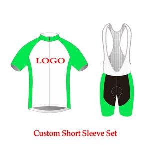 Набор для езды на велосипеде по индивидуальному заказу, трикотажные изделия для самостоятельной сборки, велосипедная одежда для MTB велосип...