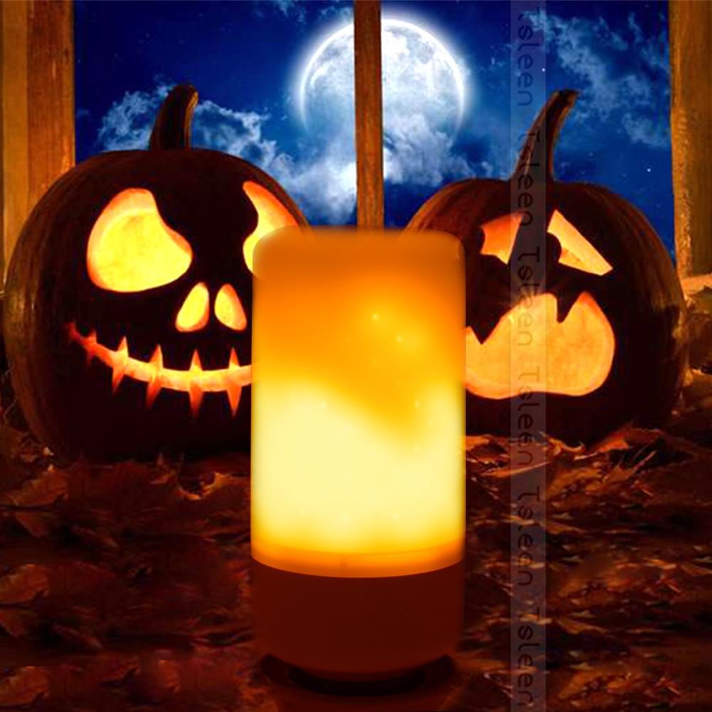 4PCS 3528SMD E26 LED Lamp E27 E14 B22 220V 110V Flame Effect Fire Light Bulbs 3 modes 85-265V Flickering Emulation Decorative