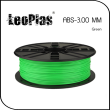 Worldwide Fast Delivery Direct Manufacturer 3D Printer Material 1 kg 2.2 lb 3mm Green ABS Filament
