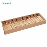 Baby Toy Montessori Standard Spindle Box With 45 Spindles Math Learning and Education Spindle Rod Kids Toys Brinquedos Juguetes