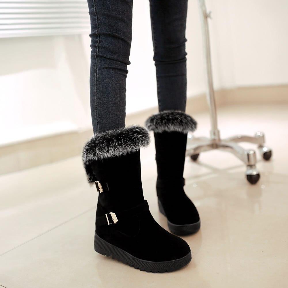 bottes neige femme chic. Black Bedroom Furniture Sets. Home Design Ideas