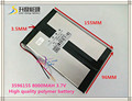 3.7V 8000mAH 3596155 Polymer lithium ion / Li-ion battery for tablet pc,GPS,cell phone,power bank