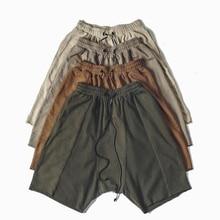 summer NEW fashion mens kanye west urban clothing  sweatpants trousers hip hop  men jogger sweat Justin Bieber men shorts